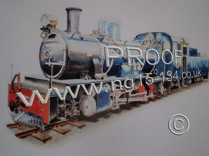 Painting of NG15 No.134 as it's expected to look